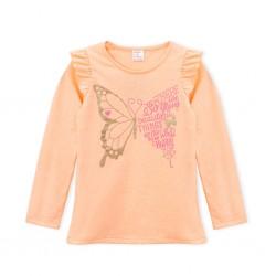 Remera nena mariposa Ruabel