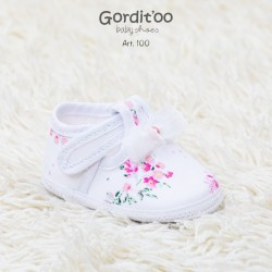 Guillermina beba blanca con moño Gorditoo