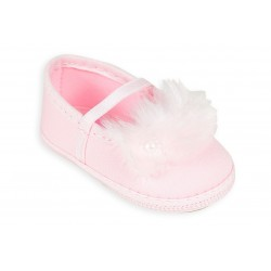 Balerina rosa con plumas beba Gorditoo