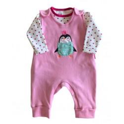 Enterito y body beba Premium Only Baby