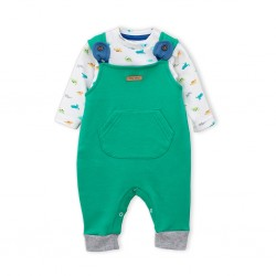 Jardinero y body bebe Premium Only Baby
