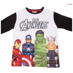 Remera nene manga larga Avengers