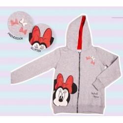 Campera nena con capucha Minnie Mouse