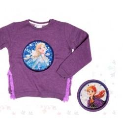 Buzo nena con lentejuelas reversibles Frozen