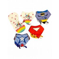 Set superheroes Chicho Poroto