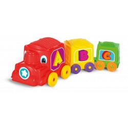 Locomotora animada calesita Rivaplast