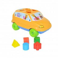 Autito didactico Baby Car. Rivaplast