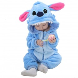Pijama Monstruo azul bebe