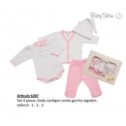 Set 4 piezas Baby Skin