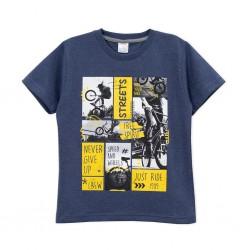Remera estampa bici nene Ruabel