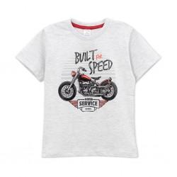 Remera con estampa moto nene Ruabel