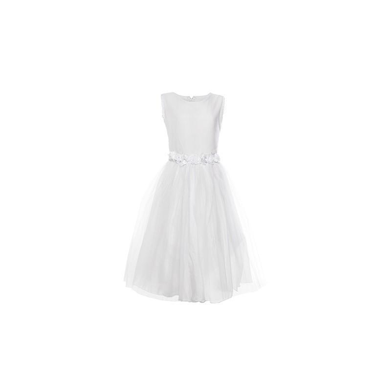 Vestido Comunión sin Mangas Falda Tul Children Dior