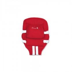 Mochila portabebé extensible roja Pilim