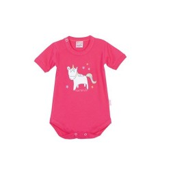Body unicornio beba Naranjo