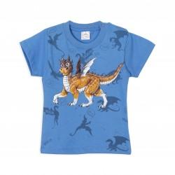 Remera dragón bebe Ruabel