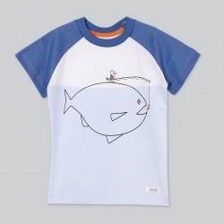 Remera pez bebé Cheito