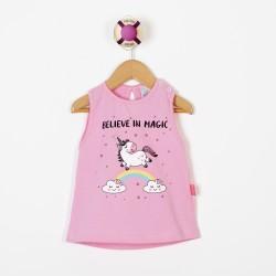 Musculosa unicornio beba Premium