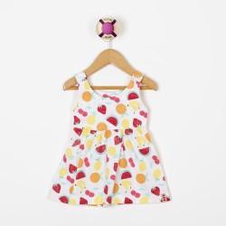 Vestido frutas beba Premium