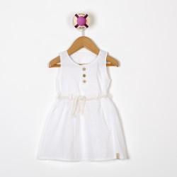 Vestido bordado beba Premium
