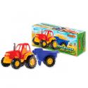 Tractor Grande con Acoplado Duravit