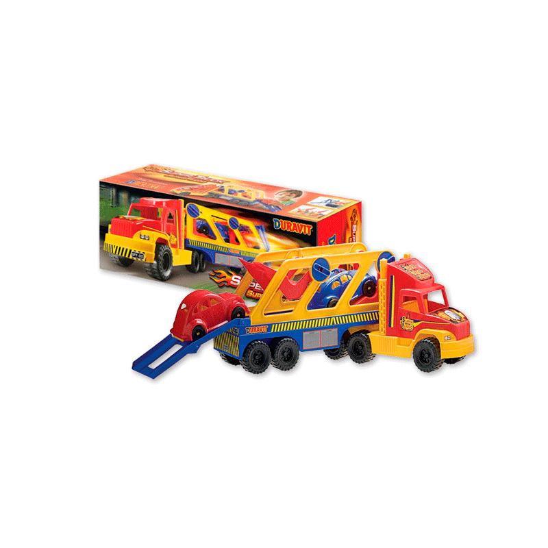 Camion Transporte 2 Autos Duravit