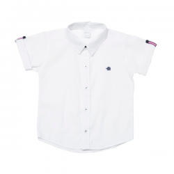Camisa blanca bebé Pilim