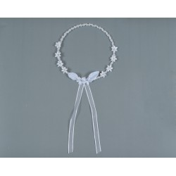 Corona Comunion de perlas