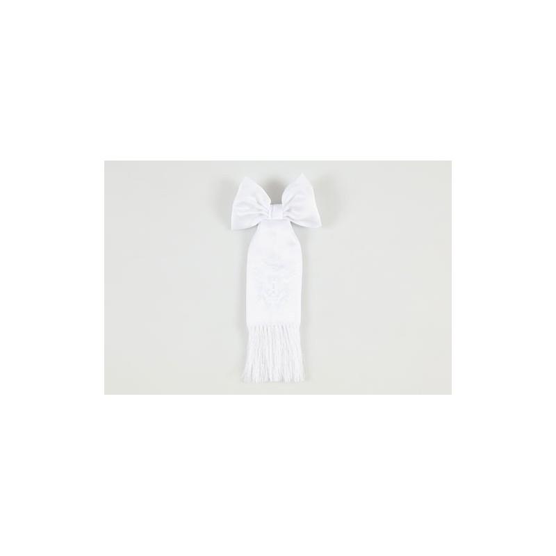 Brazal bordado blanco Comunion