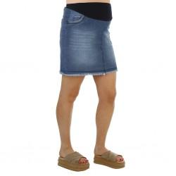 Mini pollera jeans Que Sera