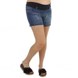 Short jean con roturas Qué Será