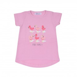Remera flamingo beba Pupo Verano Off