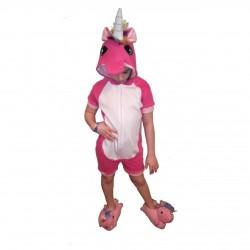 Pijama de verano de Unicornio