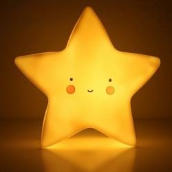 Velador led estrella