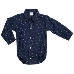 Body camisa fantasia Pilim