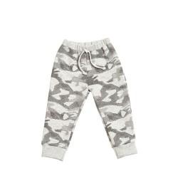 Pantalón de frisa estampado con puño bebé Pilim