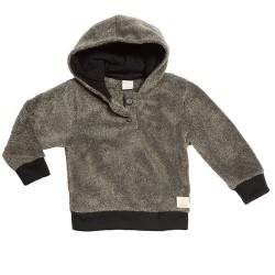 Buzo con capucha de piel bebé Pilim