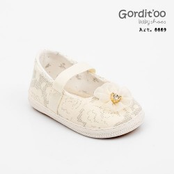 Balerina broderie natural beba Gorditoo
