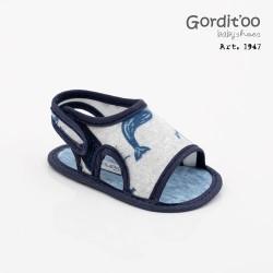 Sandalia talón bebé Gorditoo