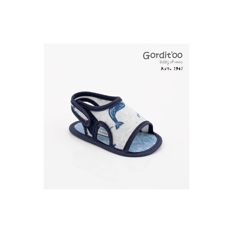 Sandalia palmera bebé Gorditoo