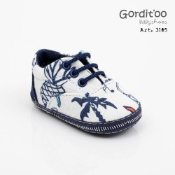 Zapatilla estampada bebe Gorditoo
