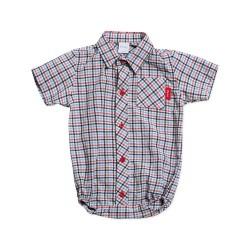 Body camisa escoces bebe Pilim