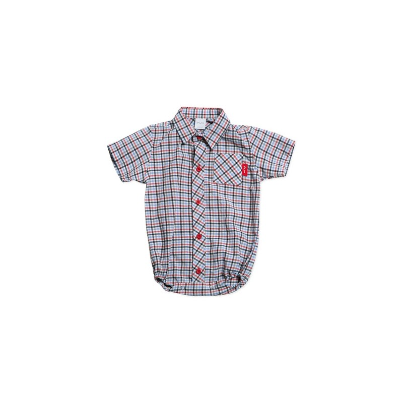 Body camisa escoces bebe Pilim