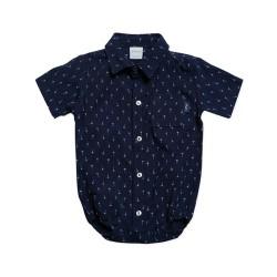 Body camisa estampada bebé Pilim