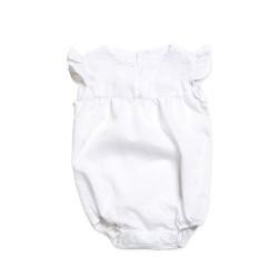 Body camisa con volados beba Pilim