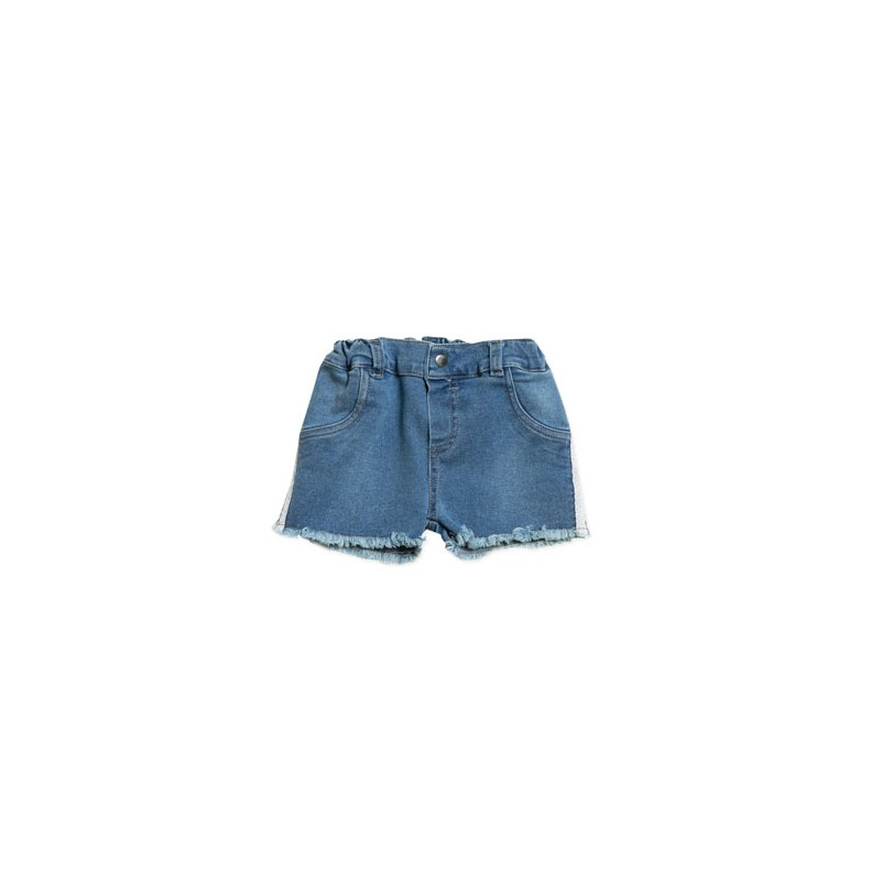 Short de jean con glitter beba Pilim