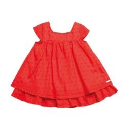 Vestido plumetti con bombacha beba Pilim
