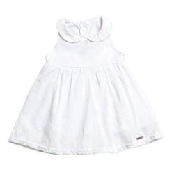 Vestido voilé con bombacha beba Pilim