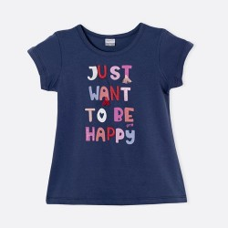 Remera Happy nena Gepetto