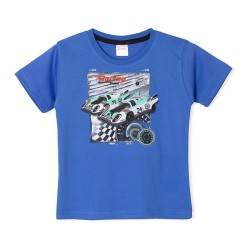 Remera autos carrera nene Ruabel