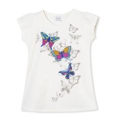 Remera mariposa nena Ruabel